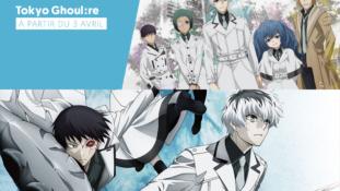 Trailer VOSTFR de l'anime Tokyo Ghoul:re qui sera diffusé en simulcast sur Wakanim et J-One à partir du mardi 3 avril