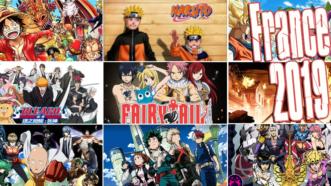 Bleach, One-Punch Man, My Hero Academia et One Piece dans le Top 10 des animes les plus visionnés de 2019 en France