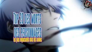 Top 20 des morts les plus impactantes dans les animes