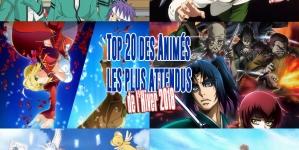 Top 20 des animes les plus attendus de l'Hiver 2018