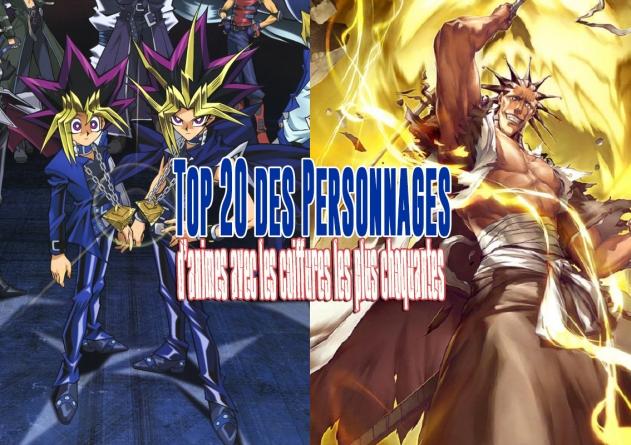 Top 20 des personnages d'animes avec les coupes de cheveux les plus surprenantes