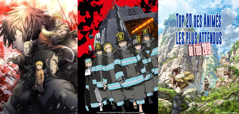 Top 20 des animes les plus attendus de l'été 2019