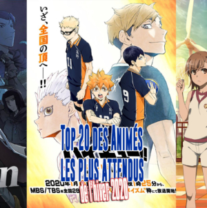 Top 20 des animes hiver 2020 : Haikyû, A Certain Scientific, Dorohedoro, Isekai Quartet…