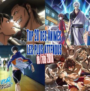 Top 20 des animes de l'été 2018 les plus attendus par les japonais