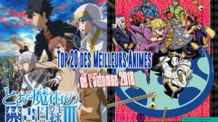 Top 20 des meilleurs animes de l'automne 2018