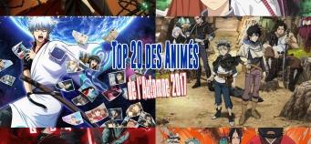Top 20 des meilleurs animes de l'Automne 2017