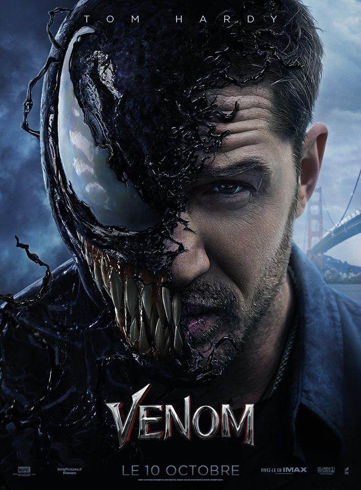 Venom: Premier trailer du film où on voit vraiment Venom cette fois !