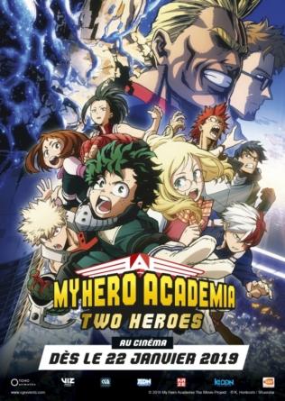 My Hero Academia: Two Heroes: Le film débarque au cinéma en janvier 2019