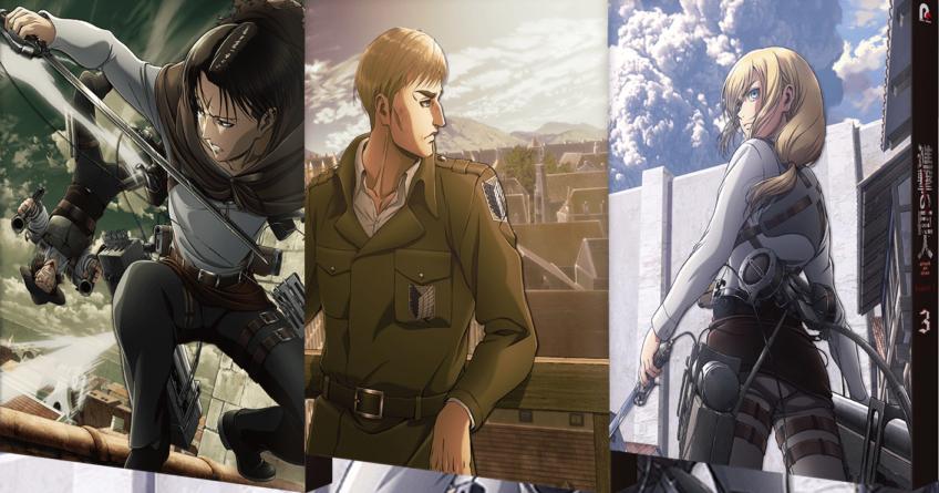 Attaque des Titans (Shingeki No Kyojin) : La seconde partie de la saison 3 de l'anime sera explosive
