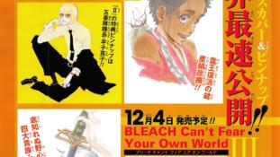 Bleach: Can't Fear Your Own World: Shinji aussi révélera son Bankai !