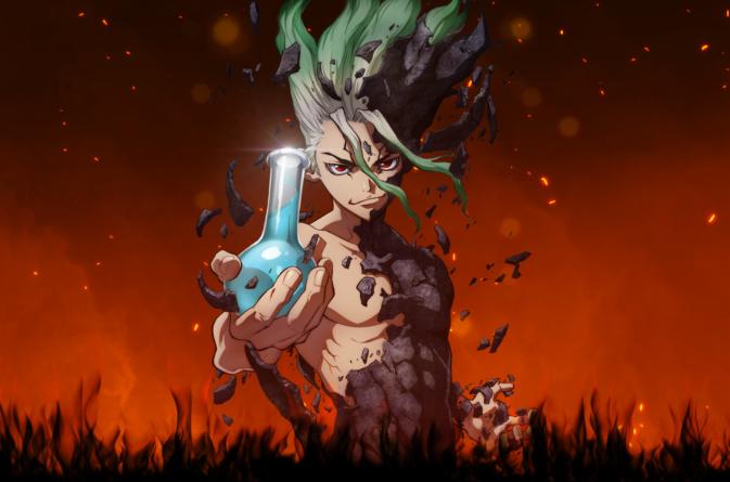 Dr. Stone : Première vidéo promotionnelle de l'anime qui débute en juillet 2019