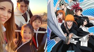 VIDÉOS – MIYAVI (Byakuya du film Bleach) et sa famille se déguisent en personnages du film pour Halloween