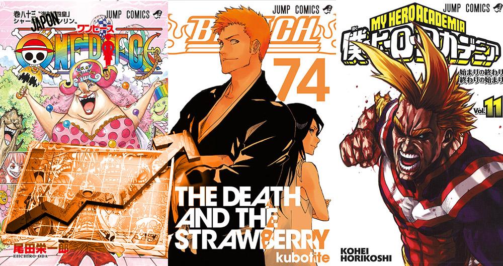 Meilleures ventes de Manga: Top 50 Oricon du 21 novembre au 27 novembre 2016