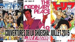 Couvertures de la Shueisha: Mois de Juillet 2015