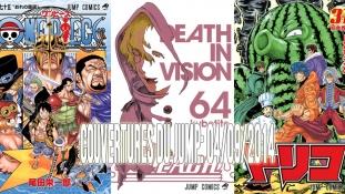 Couvertures du Weekly Shônen Jump: Mois de Septembre 2014