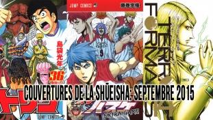 Couvertures de la Shueisha: Mois de Septembre 2015