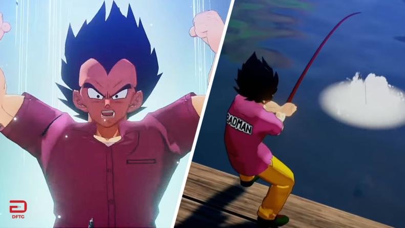 Dragon Ball Z – Kakarot : Gameplay de Vegeta et Gohan Ado de l'arc Cyborg (Cell)