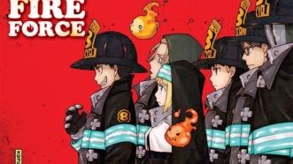 Le manga Fire Force adapté en anime [Premier visuel]