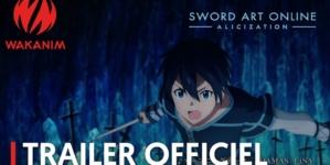 Sword Art Online: Alicization: Nouveau trailer de l'anime qui fera environ 50 épisodes