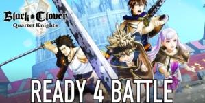 Black Clover Gaiden: Quartet Knights: Le jeu vidéo adapté en manga