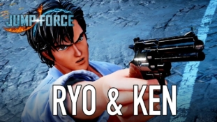 Jump Force: Ken (Hokuto no Ken) et Ryo (City Hunter) mettent le feu à Paris