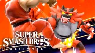 Super Smash Bros. Ultimate: Nouveau trailer et Ken et Félinferno sont les derniers personnages jouables