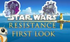 Star Wars: Resistance: La série animée révèle un trailer et sa date de lancement