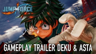 Jump Force : Trailer de gameplay de Deku (My Hero Academia) et Asta (Black Clover)