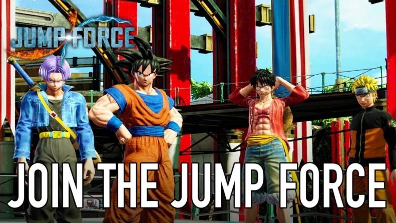 Jump Force : Trailer du monde histoire et de la création d'avatar