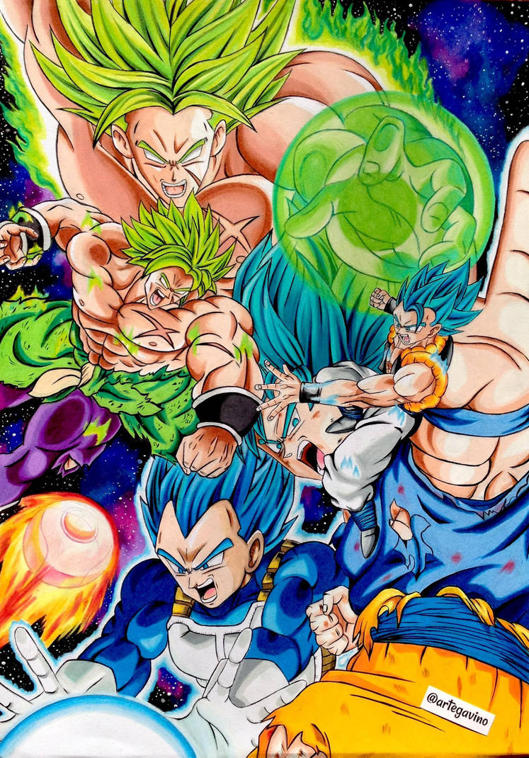 Dragon Ball Super Broly Le Film Adapte En Manga Et En Light