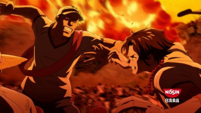 One Piece : Le spot reprend l'arc de Marineford avec Ace